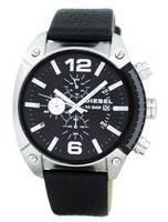 Cronômetro de quartzo de estouro de diesel dz4341 relógio dos homens