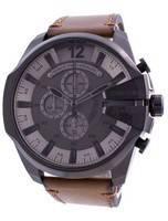 Diesel Mega Chief Chronograph Grey Dial Quartz DZ4463 100M Men's Watch