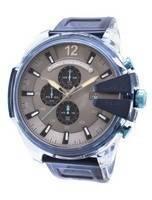 Relógio de homens de quartzo de cronômetro diesel Mega chefe DZ4487