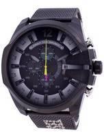 Relógio Diesel Mega Chief DZ4514 de homem, cronógrafo de quartzo