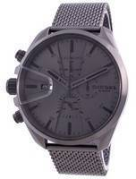 Diesel MS9 Chronograph Gunmetal Stainless Steel Quartz DZ4528 Men's Watch