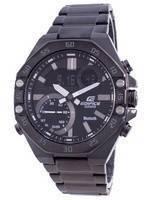 Casio Edifice Smartphone Link Hora mundial Quartz ECB-10DC-1A ECB10DC-1A 100M Relógio masculino