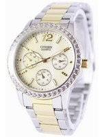 Citizen Quartz Swarovski Crystals ED8094-52N Women's Watch
