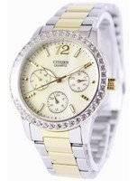 Citizen Quartz Swarovski Crystals ED8094-52N Women's Watch