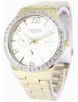Citizen Quartz Swarovski Crystals ED8122-59A Women's Watch