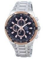 Casio Edifice Chronograph Quartz Tachymeter EF-539D-1A5V EF539D-1A5V Men's Watch
