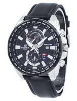 Relógio Casio Edifice World Time Quartz Relógio EFR-550L-1AV EFR550L-1AV
