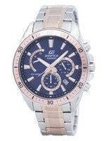 건반 건물 크로 노 그래프 쿼 츠 EFR-552SG-2AV EFR552SG-2AV 남자 시계