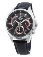 Relógio Casio Edifice EFV-580L-1AV EFV580L-1AV de homem com cronógrafo de quartzo