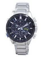 Casio Edifice Tough Solar Filght Mode Bluetooth Tachymeter EQB-501XDB-1A Men's Watch