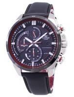 Casio Edifice EQS-600BL-1A Assista Men Chronograph Solar