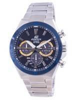 Casio Edifice Solar Powered Chronograph EQS-800BCD-2A EQS800BCD-2 100M Men's Watch