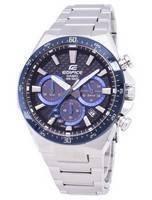 Relógio Casio Edifice Solar Cronógrafo EQS-800CDB-1BV EQS800CDB-1BV Men
