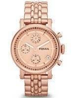 Fossil Original Boyfriend Chronograph ES3380 Women's Watch