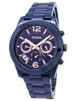 Fossil Perfect Boyfriend Multifunction Dual Time Quartz ES4093 Women's Watch