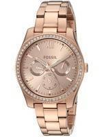 Fossil Scarlette Multifunction Quartz Diamond Accent ES4315 Women's Watch