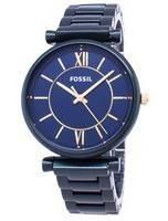 Fossil Tailor ES4427 Relógio Analógico de Quartzo para Mulher