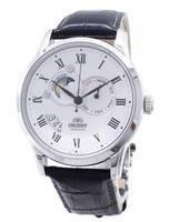 Orient automático sol e lua-relógio coleção FET0T002S0 ET0T002S masculino