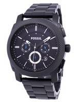 Fossil Machine Chronograph Black IP Stainless Steel FS4552 Men's Watch