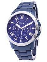 Fósseis conceder relógio cronógrafo Quartz FS5230 masculino