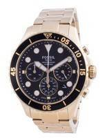 Fossil FB-03 Chronograph Stainless Steel Quartz FS5727 100M Men's Watch
