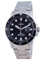 Fossil FB-01 Black Dial Stainless Steel Quartz FS5805SET 100M Men's Watch