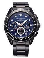 Relógios Aries Gold Inspire Atlantic Cronógrafo Quartz G 7002 BK-BU