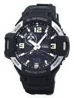 Relógio Casio G-Shock Gravitymaster Twin Sensor GA-1000-1B masculino