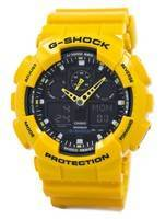 Casio G-Shock GA-100A-9ADR GA100A-9ADR Velocity Indicator Alarm Men's Watch
