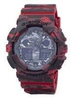 Casio G-Shock Camouflage Series Analog-Digital GA-100CM-4A GA100CM-4A Men's Watch
