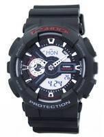Relógio Casio G-Shock World tempo GA110 de GA-110-1A Analógico Digital masculino