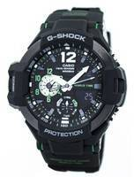 Casio G-Shock GRAVITYMASTER Twin Sensor World Time GA-1100-1A3 GA1100-1A3 Men's Watch