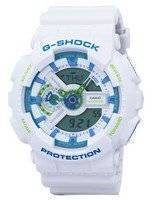 Casio G-Shock Sport Shock Resistant World Time Analog Digital GA-110WG-7A GA110WG-7A Men's Watch