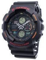 Relógio Casio G-Shock GA-140-1A4 de quartzo com resistência a choques 200M para homem