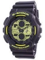 Casio G-Shock hora mundial quartzo GA-140DC-1A GA140DC-1A 200M relógio masculino