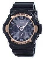 Casio G-Shock Rose Gold Accented GA-200RG-1A GA200RG-1A Men's Watch
