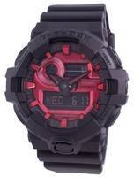 Relógio Casio G Shock GA-700AR-1A Quartzo Resistente a Choques 200M Masculino