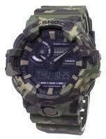 Casio G-Shock Iluminador Modelos A Cores Especiais 200M GA-700CM-3A GA700CM-3A Relógio Masculino