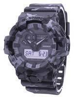 Casio Iluminador G-Shock resistente a choque analógico Digital GA-700CM-8A GA700CM-8A Men Watch