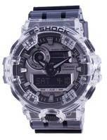 Casio G-Shock Special Color Analógico Digital Clear Skeleton Diver GA-700SK-1A GA700SK-1A 200M Relógio Masculino