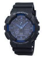 Casio G-Shock World Time alarme GA-100-1A2 GA-100 relógio