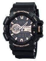 Casio G-Shock Analog Digital World Time GA-400GB-1A4 GA400GB-1A4 Men's Watch