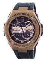 Relógio Casio G-Shock G-aço Analógico Digital mundo tempo GST-210B-4A masculino