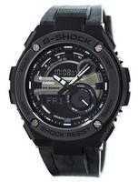 Relógios Analógicos Digitais G-Steel Casio G-Steel Hora do Mundo GST-210M-1A