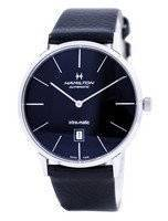 Hamilton Intra-Matic Automatic Black Dial H38755731 Men's Watch