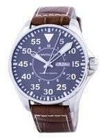 Relógio de Hamilton Hakki Automatic H64715885 dos homens piloto de Khaki
