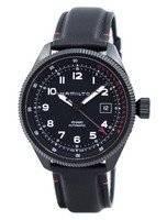 O relógio dos homens automáticos de H76695733 do ar Zermatt da decolagem da aviação de Hamilton Khaki
