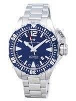 Relógio de homens Hamilton Hika Marinha Frogman automático H77705145