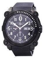 Relógio de cronógrafo automático Hamilton Khaki H78686333