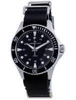 Relógio masculino Hamilton Khaki Navy Quartz H82201931 100M